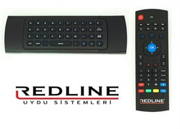 Redline RED 250 Orijinal Android Air Mouse Klavyeli Wireless Kumanda