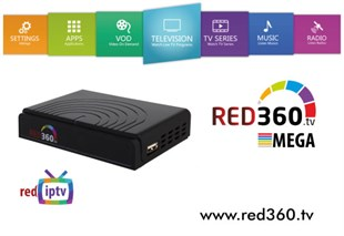 Redline RED 360 TV MEGA OTT BOX HEVC 4 K ULTRA HD / OTT + WİFİ